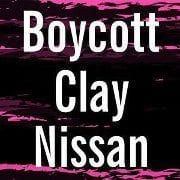 Clay Nissan of Newton being picketed July 28