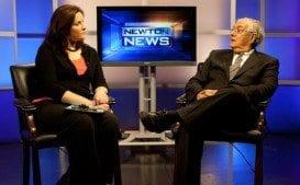 Jenn Adams: 10 years bringing us 'Newton News'