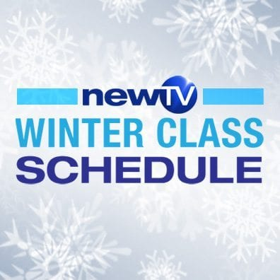 Winter Class Schedule at NewTV