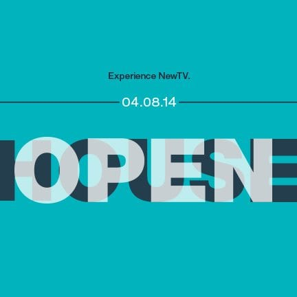Open House: Experience NewTV (April 8, 6-8pm)