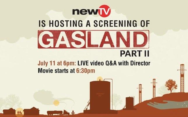 Screening of Gasland Part II
