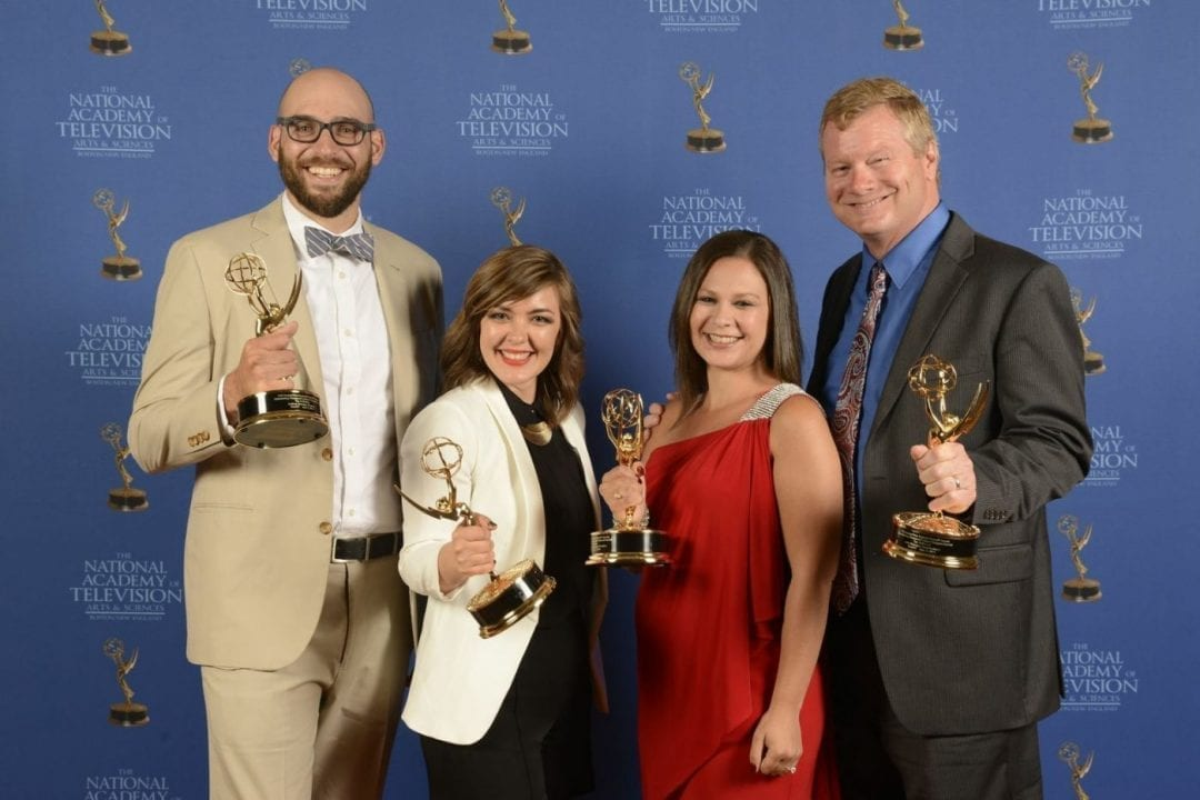 Third Emmy win for NewTV!