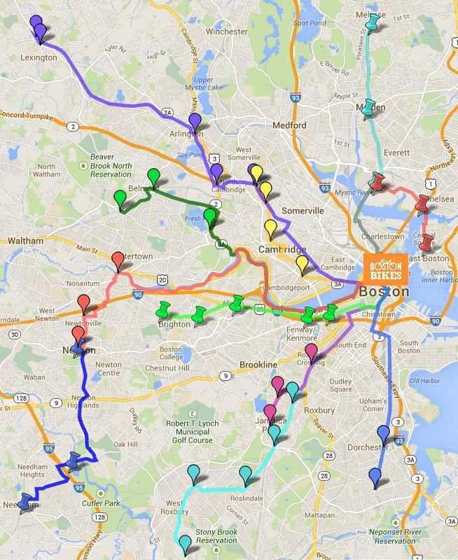 Fun on Friday–Bike Convoy to Boston!