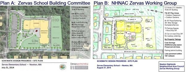 "NHNAC Zervas Working Group proposes ""Plan B"" to save trees, open space, …and $2.4M"