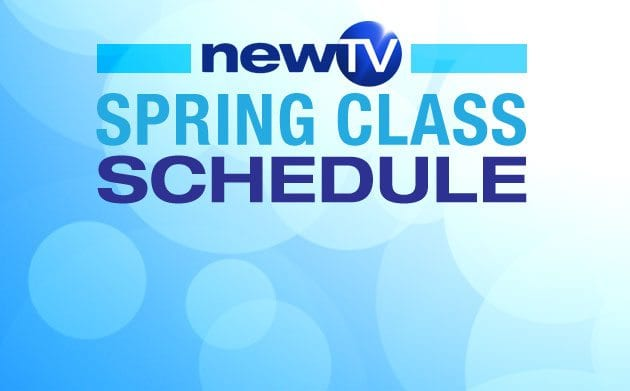 NewTV Spring Specialty Workshops