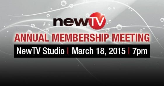 NewTV's Annual Meeting Wednesday March 18