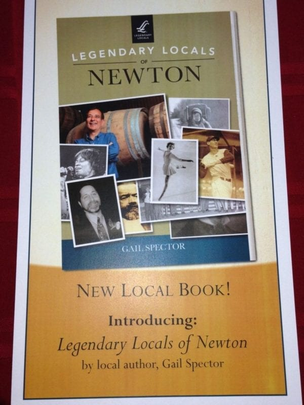 Legendary Locals of Newton Book Launch: April 29