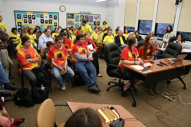 LigerBots Ask School Committee For Bus Help in Getting to the World Championships