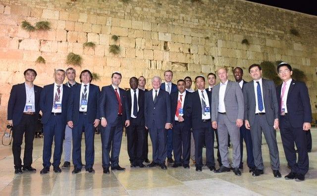 Mayor Setti Warren visits Israel again