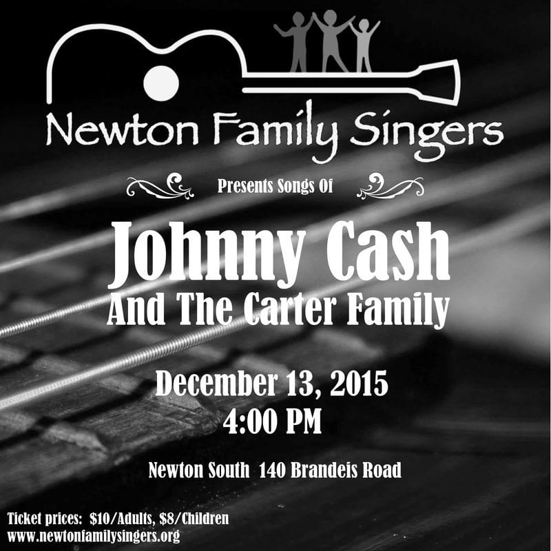 Newton Family Singers sing the music of Johnny Cash and the Carter Family