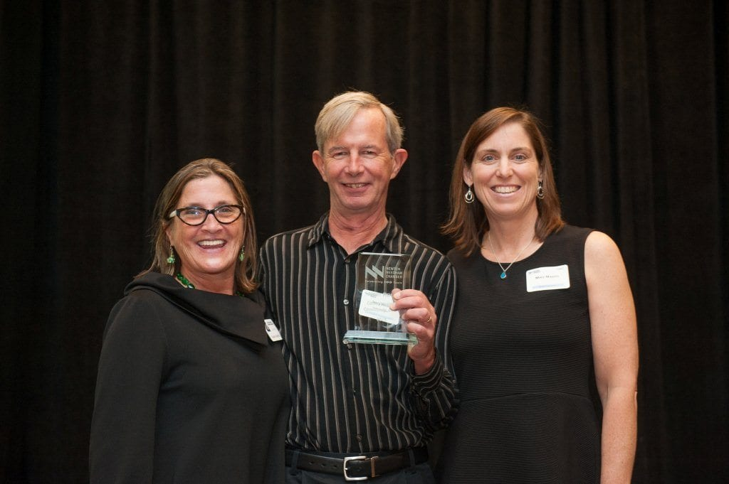 'Serial Instigator' Jerry Reilly receives CoC's Commitment to Community Award