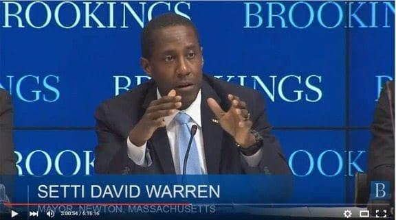 Mr. Warren goes to Washington