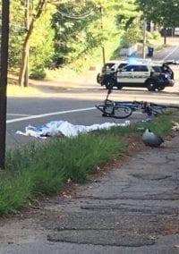 Teen on Bike Injured on Walnut Street When Hit by Driver