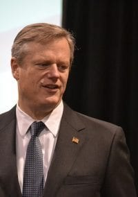 Should Charlie Baker tell us his preferred presidential candidate?