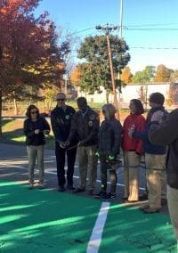 Park and Pedal Opens at Albemarle