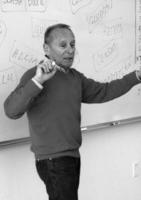 Ty Vignone taught in Newton for more than a half century