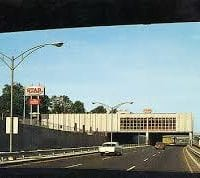 How the Newtonville Star Market ended up over the Mass Pike