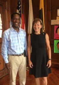 Mayor Warren endorses Gail Spector for School Committee