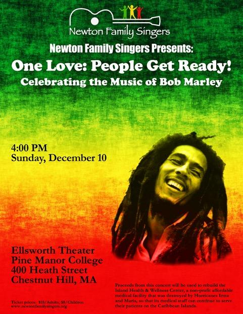 Newton Family Singers Celebrate the Music of Bob Marley
