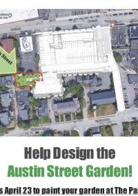 Tonight – Austin Street Pocket Park Design Competition