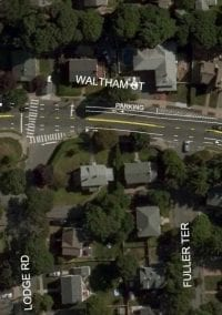 First in the City: Parking Chicanes Proposed for Waltham and Crafts
