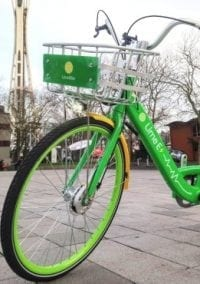 Lime-E bikes arriving in Newton