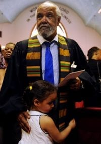 Reverend Howard Haywood passes away; Newton mourns