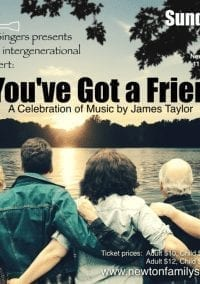 Newton Family Singers present the music of James Taylor