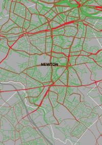 MAPC to Newton: Here's where you need to build bike lanes