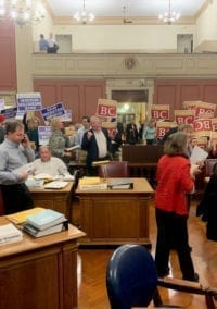 Council Gives Preliminary Approval to Webster Woods