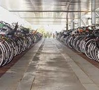 Are there excessive bike spaces at Northland?