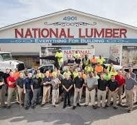 National Lumber rescues exchange students