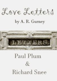 Love Letters with Paula Plum & Richard Snee